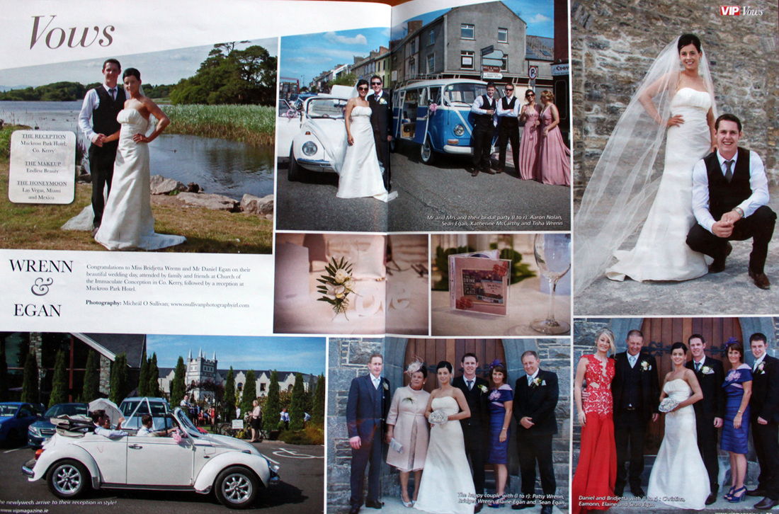 VW Weddings Ireland Camper Van Hire on V.I.P